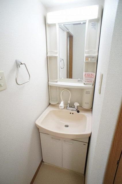 マノワールA 02010号室の洗面所