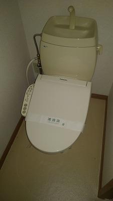 マノワールA 02010号室のトイレ