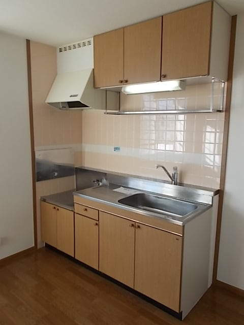 シャン・ド・フルールⅠ 02030号室のキッチン