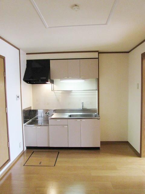 メゾン・ド・ステラB 01010号室のキッチン
