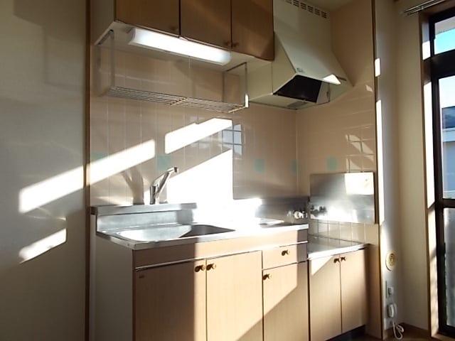 シャン ド フルールB 02010号室のキッチン