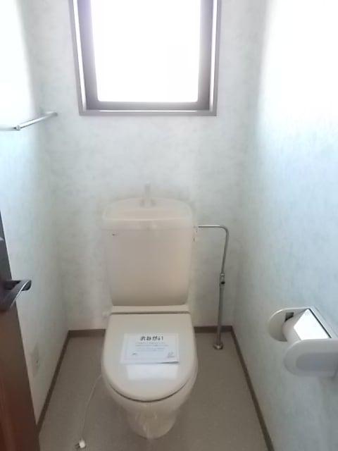 シャン ド フルールB 02010号室のトイレ