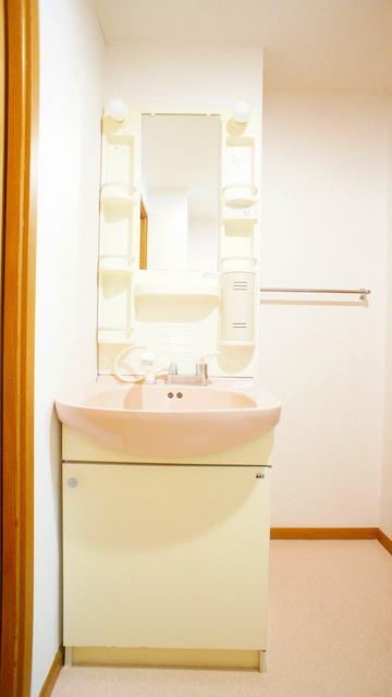 コーポラスⅥ. 02010号室の洗面所