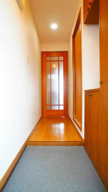 コーポラスⅥ. 02010号室の玄関