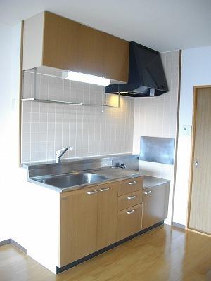 サニーコ-ト 03020号室のキッチン