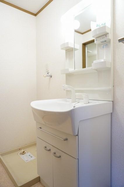クルーセ・K 01010号室の洗面所