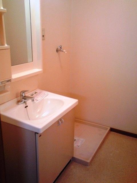 パ-クサイドC 01020号室の洗面所