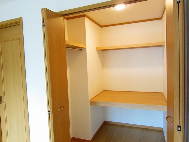 ルミエ-ル・上 01020号室の収納