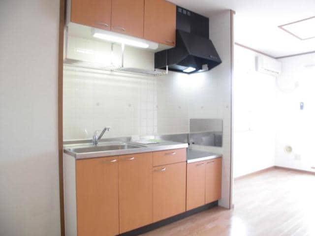 ヴィラロ-リ- 02040号室のキッチン