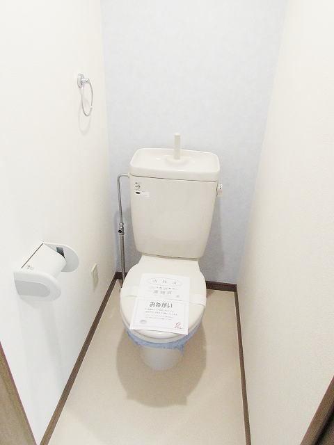 グレイスシャトル 02020号室のトイレ