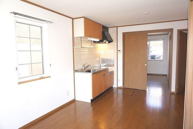 スリーゼ 01010号室のキッチン