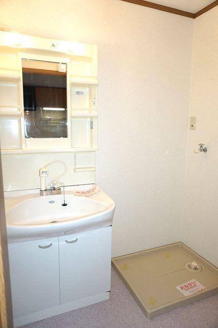 スリーゼ 01010号室の洗面所