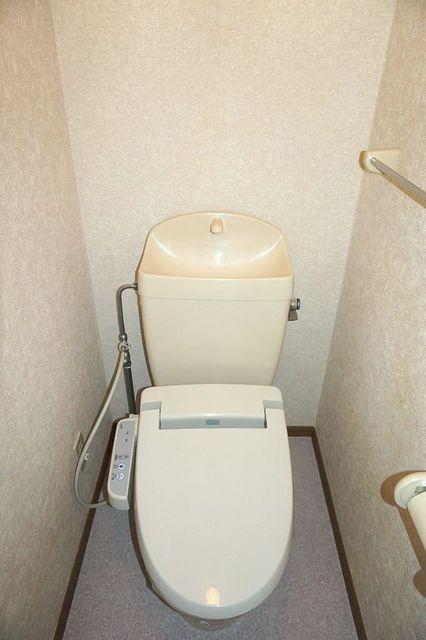 スリーゼ 01010号室のトイレ