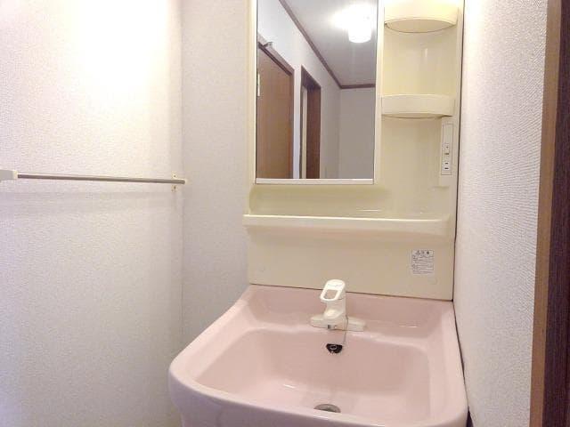 ピエ デルモンテ 02030号室の洗面所