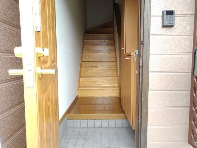 ピエ デルモンテ 02030号室の玄関
