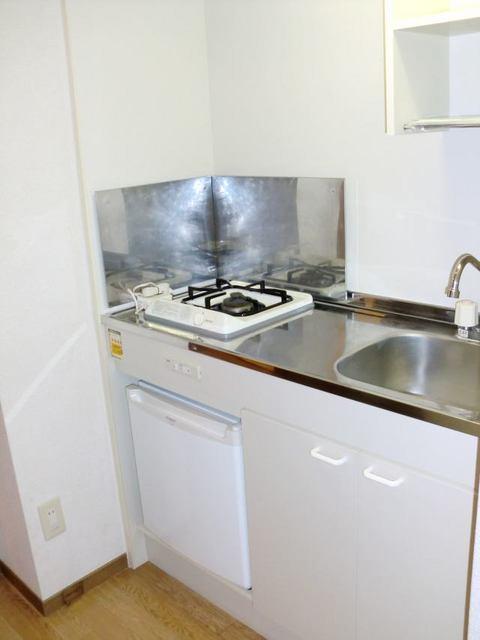 リュミエール 01040号室のキッチン