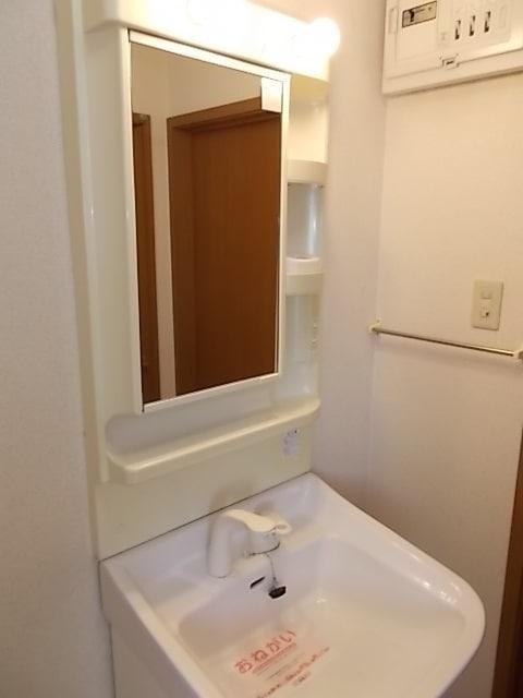 サンローレルⅡ 01020号室の洗面所