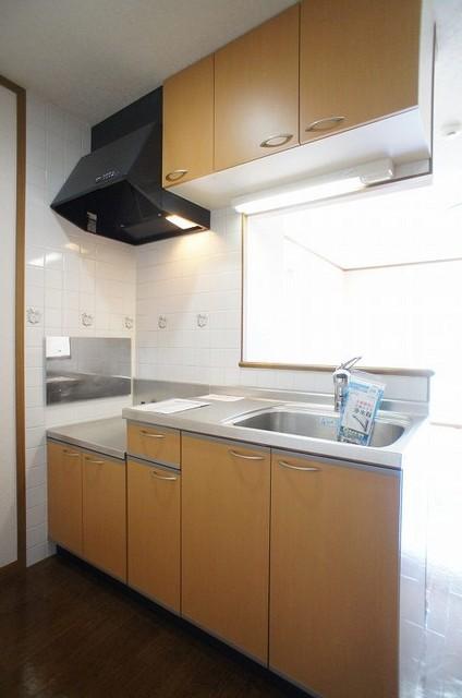 クリスタルバレー 01010号室のキッチン