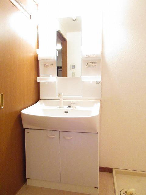 プリムヴェール 01030号室の洗面所