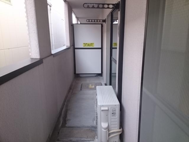 ティープラント 02030号室のバルコニー
