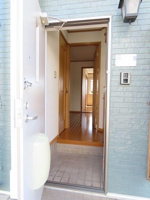 ヴェルドミールB 01020号室の玄関
