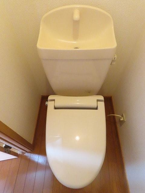 ヴェルドミールB 01020号室のトイレ