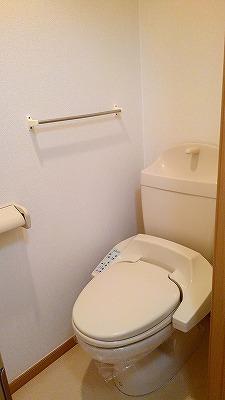 パークヒルズ・ヒロ 01010号室のトイレ