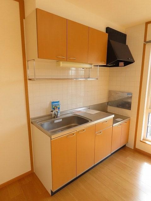 メゾン・ソレイユ A 02010号室のキッチン
