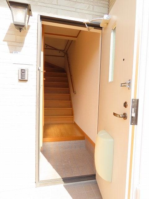メゾン・ソレイユ A 02010号室の玄関