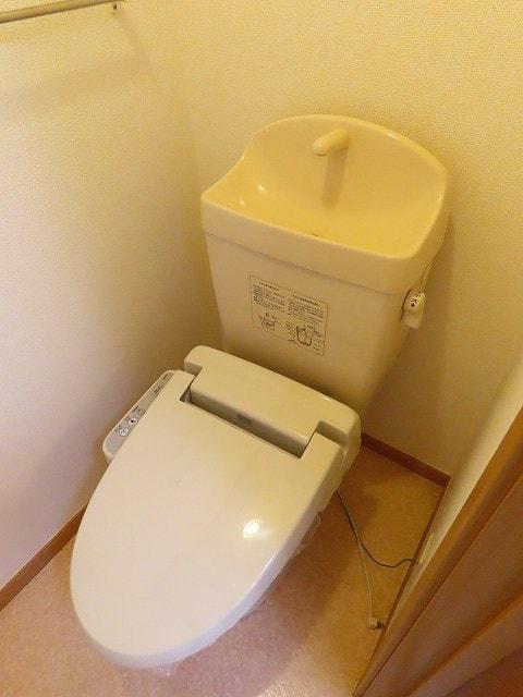 メゾン・ソレイユ A 02010号室のトイレ