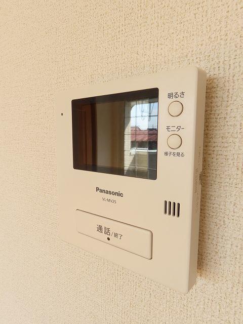 メゾン・ソレイユ A 02010号室のセキュリティ