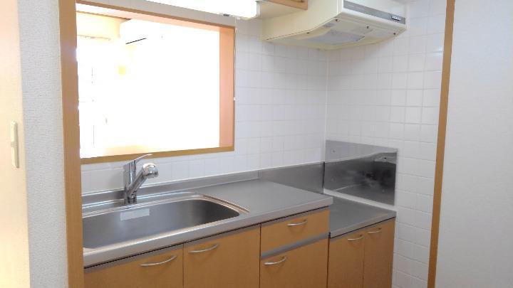 サンセールⅠ 02020号室のキッチン