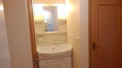 ルミエール弐番館 01030号室の洗面所