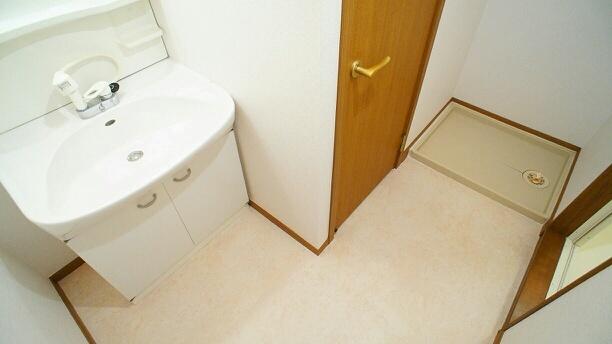 フランカルム 02010号室の洗面所