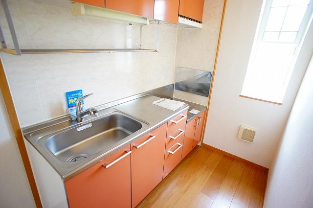 グレイスⅠ 02040号室のキッチン
