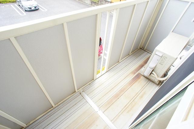 グレイスⅠ 02040号室のバルコニー