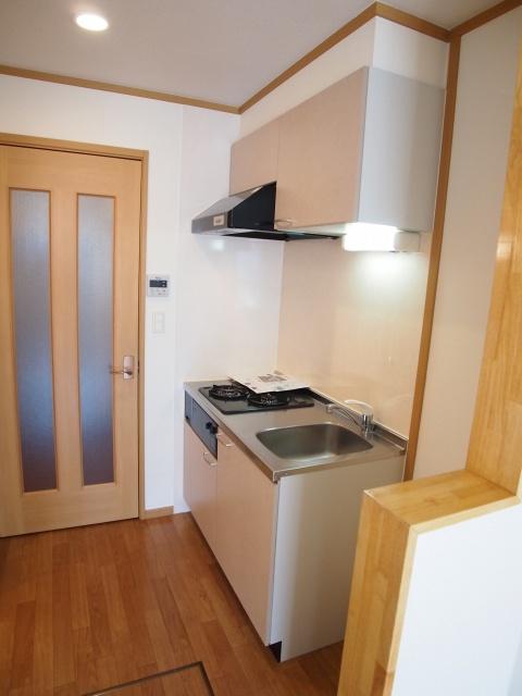 スプリングヒルズ 01010号室のキッチン