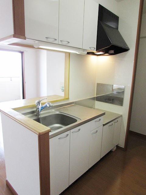 アイタス福岡 09080号室のキッチン