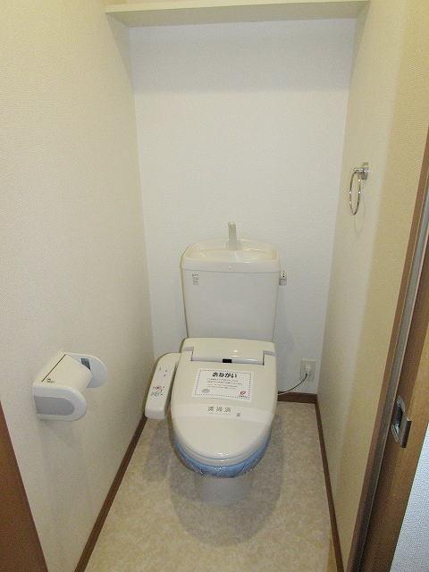 アイタス福岡 09080号室のトイレ
