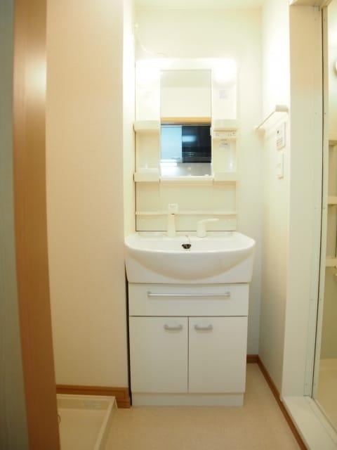 カーサ ヴェンティ 05020号室の洗面所