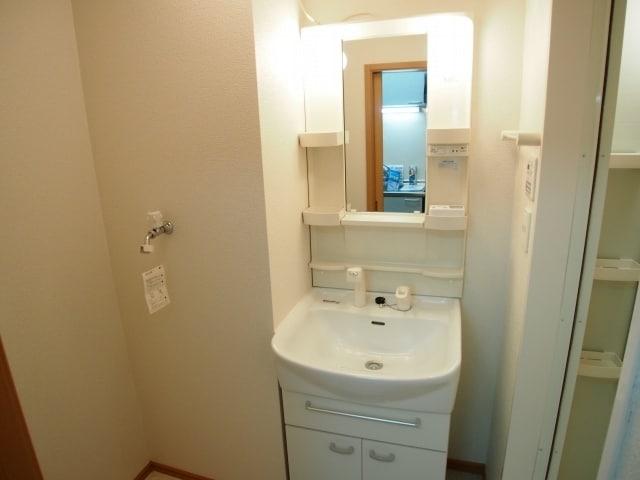 カーサ ヴェンティ 07040号室の洗面所