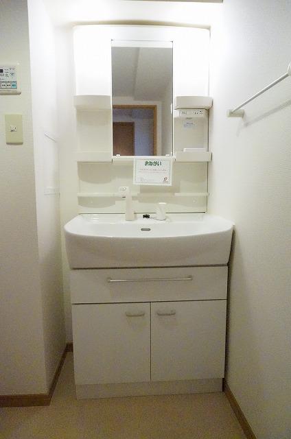 ヒルズ天神 02060号室の洗面所