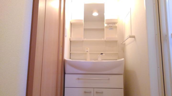 メープル 02010号室の洗面所