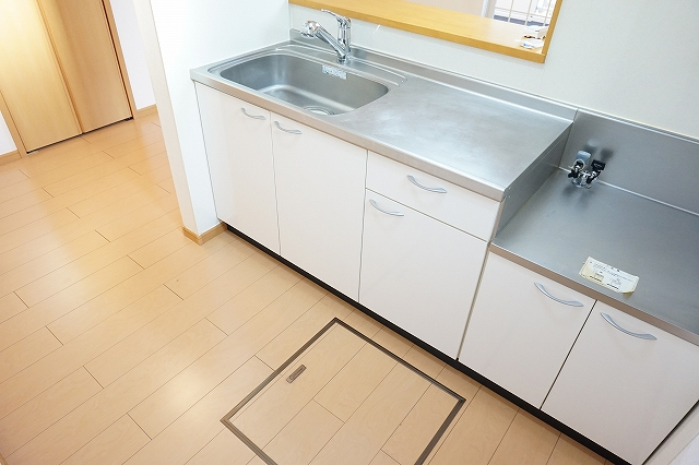プリミエールレジデンスⅠ 01010号室のキッチン