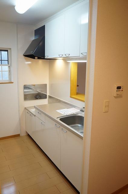 センター・フィールド 02040号室のキッチン