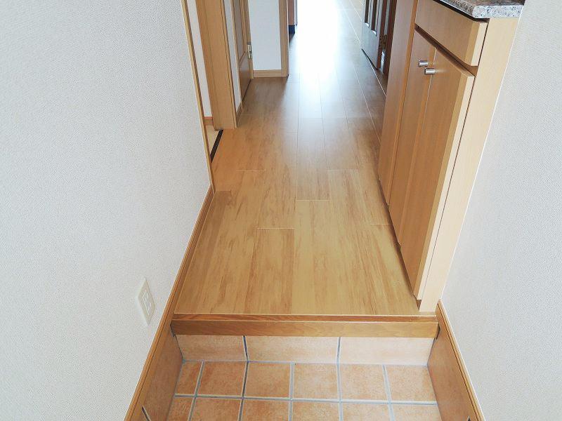 スプリングワットC棟 01010号室の玄関