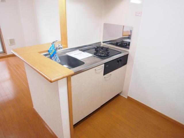 メルヴェーユ 07030号室のキッチン
