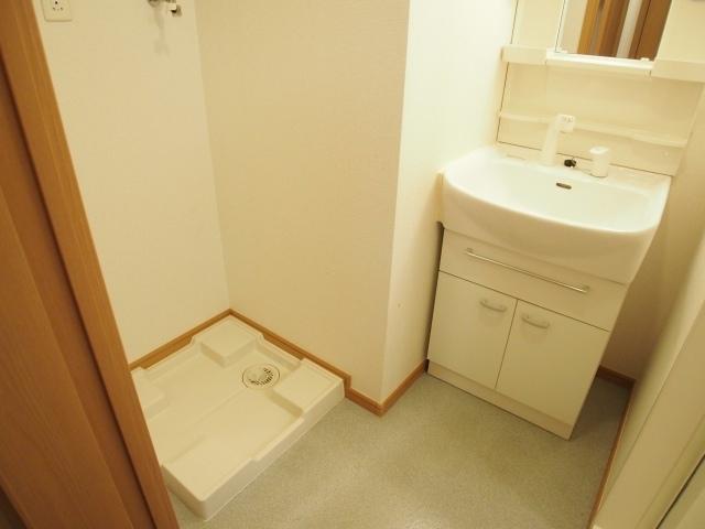メルヴェーユ 07030号室の洗面所