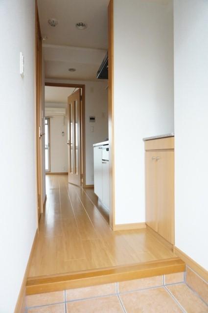 メルヴェーユ 08010号室の玄関