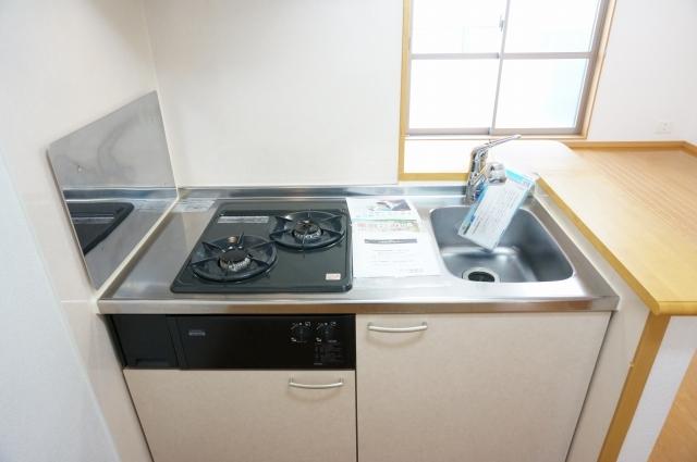 メルヴェーユ 09020号室のキッチン